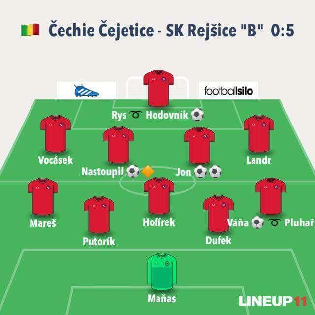 Čechie Čejetice - SK Rejšice B